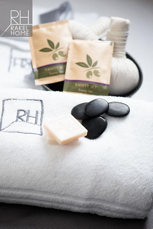 Rakelhome - Set da bagno completi per il comfort in stanza