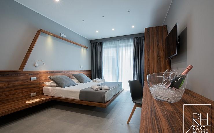 Vista della camera Suite