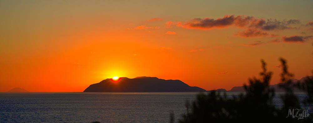 Rakelhome - Tramonto sulle Isole Eolie
